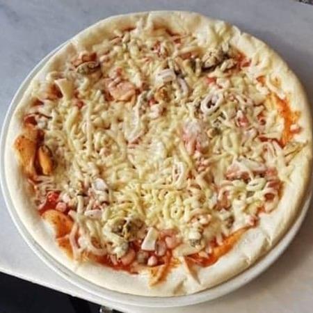 Pizza frutti del mare