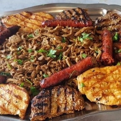 Mixed grill (4 personen)