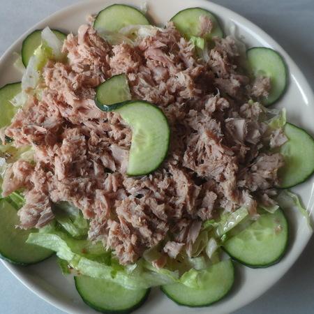 Koud voorgerecht tonijnsalade